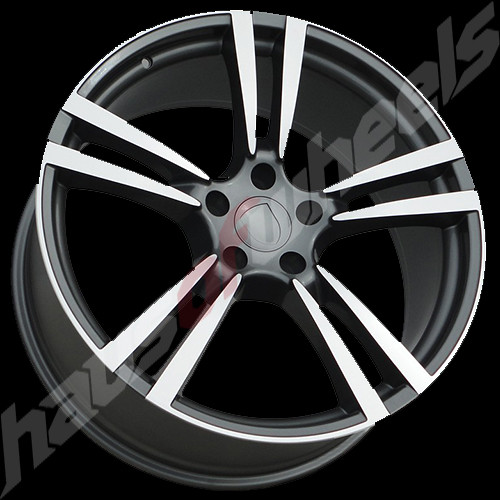 Rf 960 20in Porsche Turbo Replica Wheel Wheels Charcoal Po