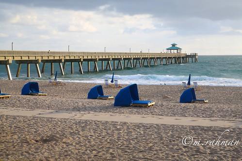 Deerfield beach fishing pier in 1st sun light canon 5d for Deerfield beach fishing pier