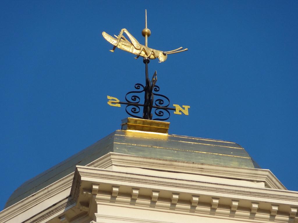 Iwalked Boston S Faneuil Hall Grasshopper Weathervane