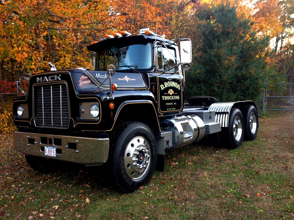 Mack R-model - Modern Mack Truck General Discussion ...