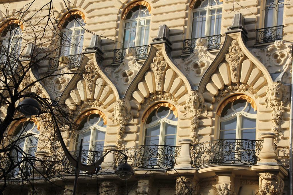Baron Haussmann Architecture