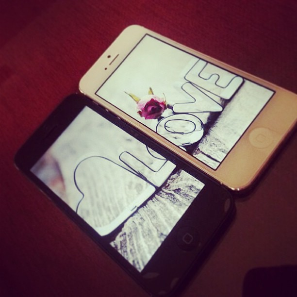 Iphone 5 Black White Couple Wallpaper Love Wowfx