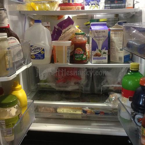 Messy Refrigerator: Day 15 Inside My Fridge Messy Messy Fridge #fmsphotoaday