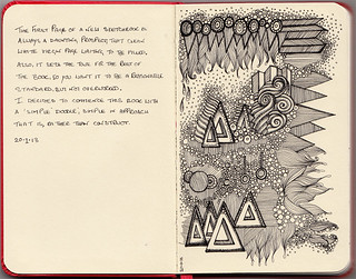 Moleskine pages 1-2 | by Lorrie Whittington
