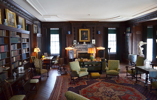 Looking E at library - FDR National Historic Site - Springwood Estate - Hyde Park NY - 2013-02-17 | by Tim Evanson