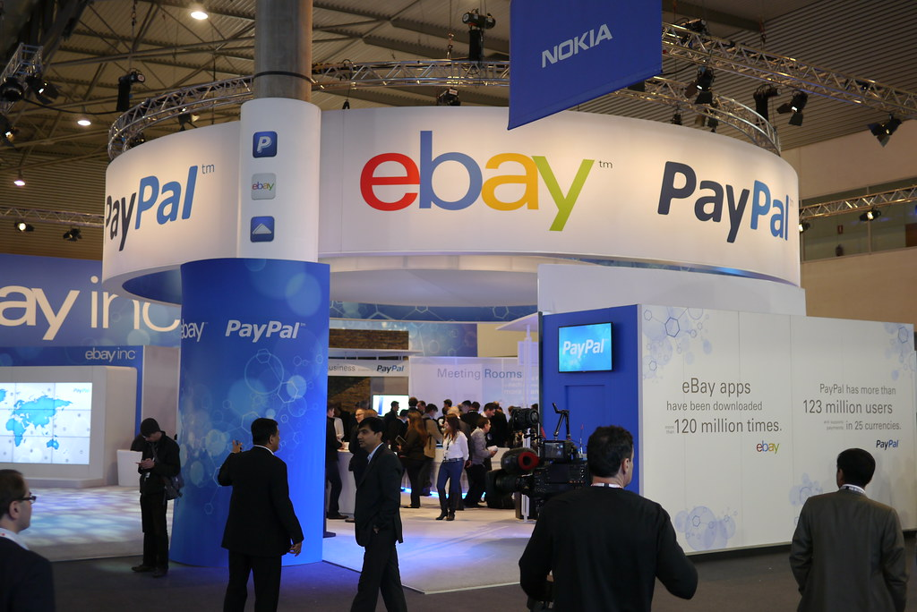 MWC Barcelona 2013  - eBay, Paypal