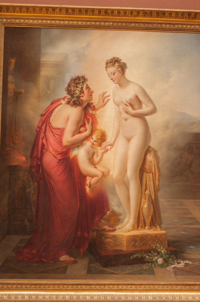 galatea and pygmalion One man, pygmalion, who had seen these women leading their lives, shocked at the vices nature has given the female disposition only too often, chose to live alone, to have no woman in his bed.