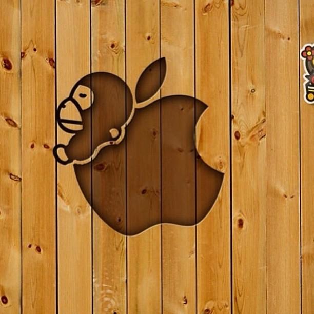 WALLPAPERS Bape Mario To Milo Source IPhone 5 Baby Wallpaper Babymilo Iphone Ip Flickr