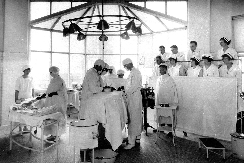 Operating Room 1924 This Early Operating Room Was