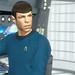 Spock on Enterprise