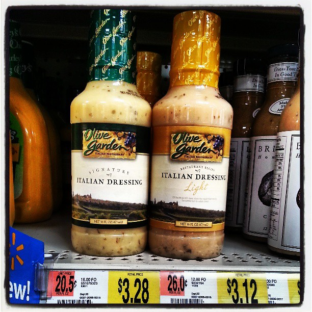 Olive Garden Italian Salad Dressing At Wal Mart Wow Flickr