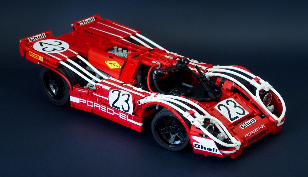 Lego Technic Porsche 917k By Thomas Zettl Nikolay