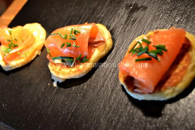 Blinis Au Saumon & Beurre Salé © Ana Luthi Tous droits rservés 001