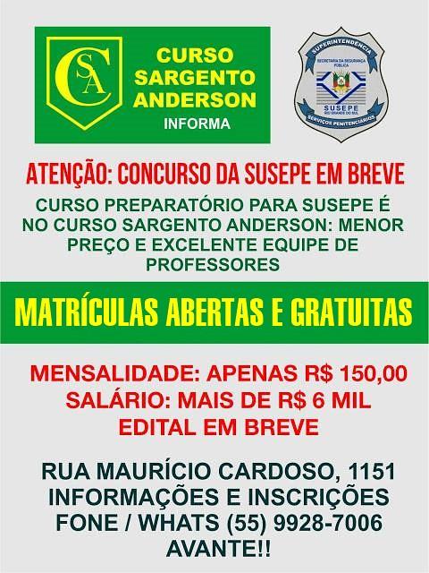 Curso Sargento Anderson 2