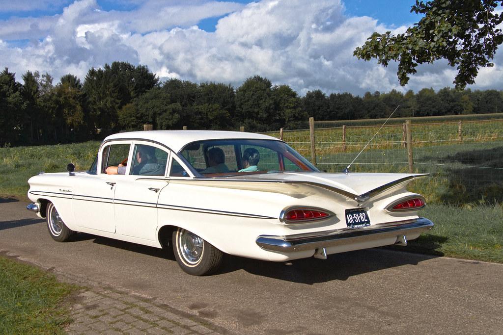 Chevrolet Bel Air 4 Door Sedan 1959 3684 Manufacturer