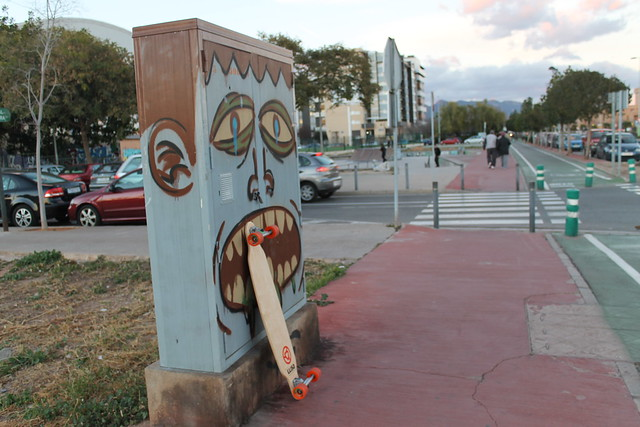 llisa longboard - castelló - skate