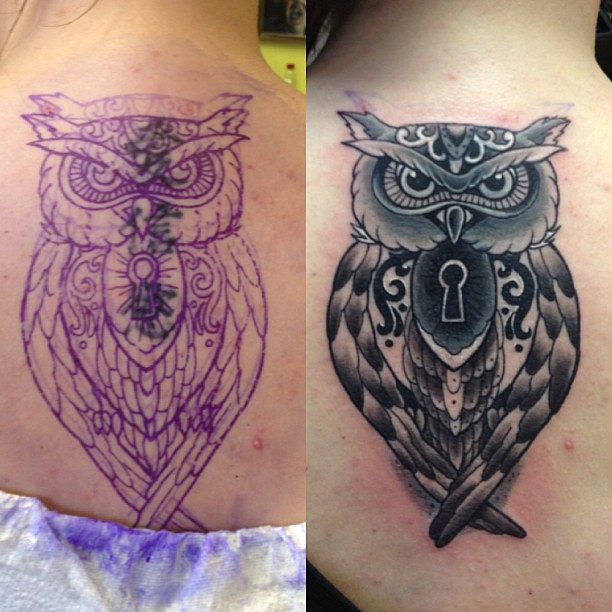 Cover Up Of 3 Chinese Symbols Tattoo Tattoos Cosmictatt Flickr