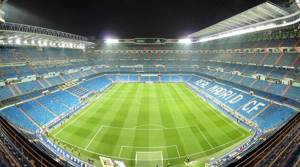 Estadio santiago bernab u taken after real 39 s 2 0 win for Estadio bernabeu puerta 0