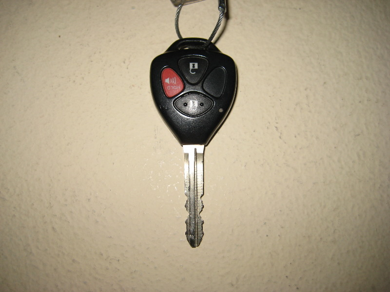 2012 Toyota Rav4 Combination Car Key Key Fob Remote Cont Flickr