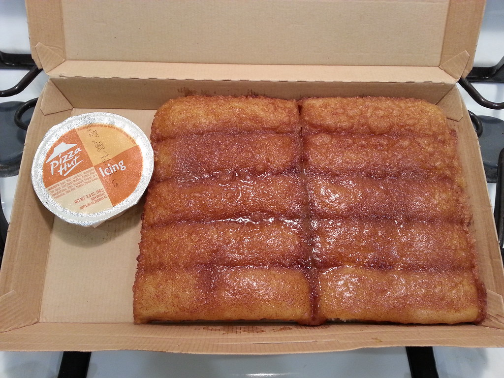 Oct 25, · Now when you take it out, you can tear the breadsticks apart and they'll be all greasy and shit, just like Pizza Hut! HellthyJunkFood: Serving Size 1 Breadstick.