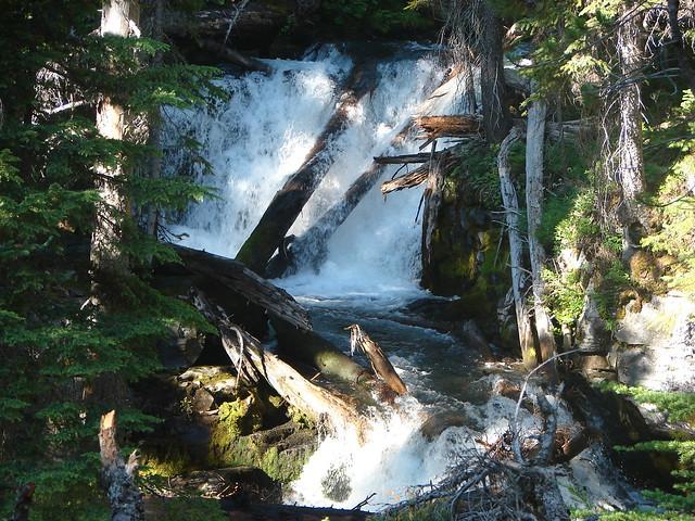 Middle Fork Tumalo Falls