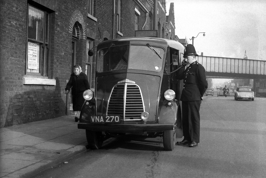 On Oldham Road In The 1950s This Photograph Of An