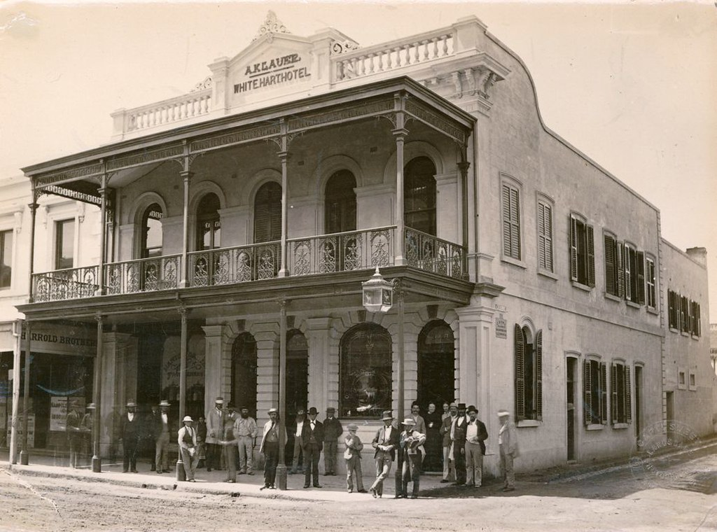 White Hart Hotel Hindley Street C 1878 B 10711 The