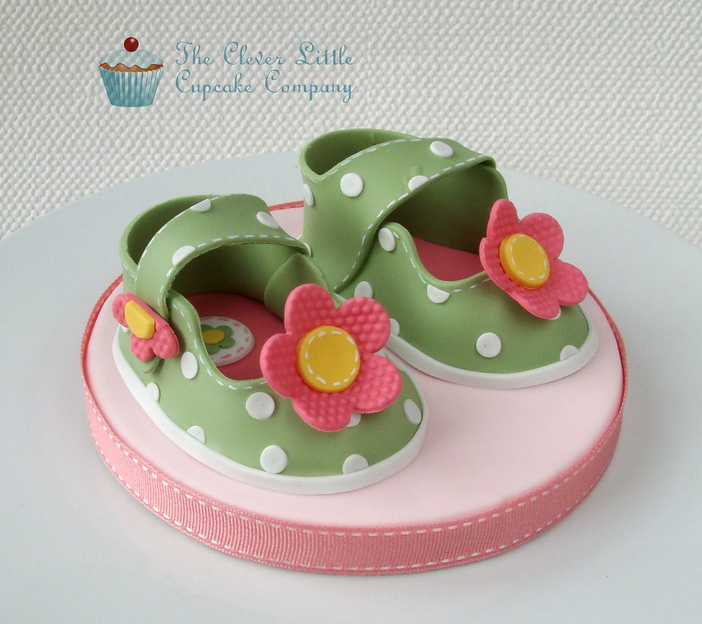 baby cake toppers baby shoes cake topper www 1420