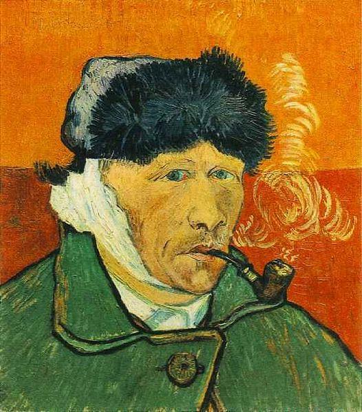 Autoportrait l 39 oreille coup e vincent van gogh 1889 - Vincent van gogh autoportrait a l oreille coupee ...