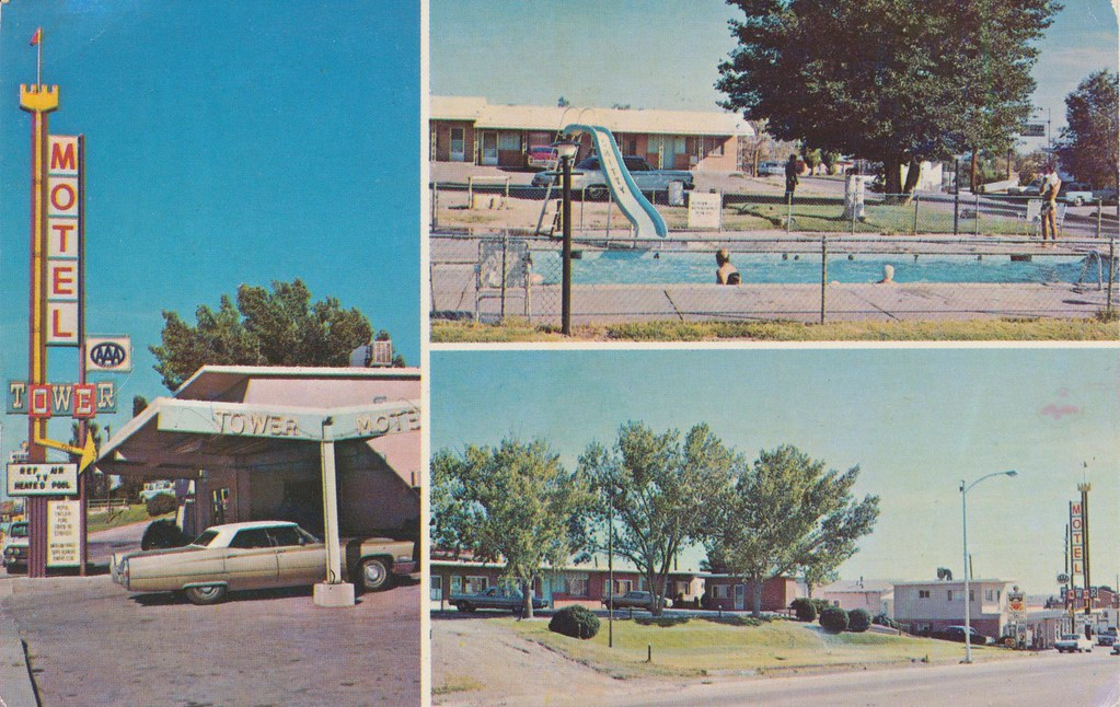 Tower Motel - Santa Rosa, New Mexico