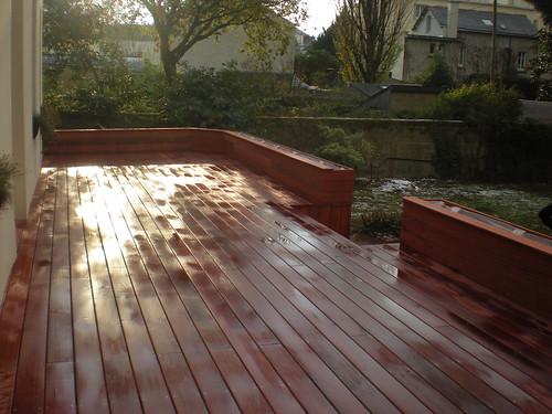 terrasse en padouk carquefou bois terrasse en pad flickr. Black Bedroom Furniture Sets. Home Design Ideas