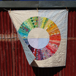 Color Wheel Quilt | by GertrudeMADE
