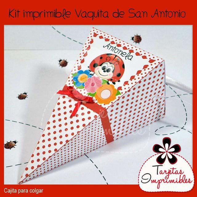Colección de decoraciones imprimibles Vaquitas de San Antonio ...