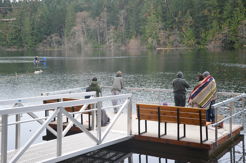 New fishing dock at durrance lake more options are for Fishing docks near me