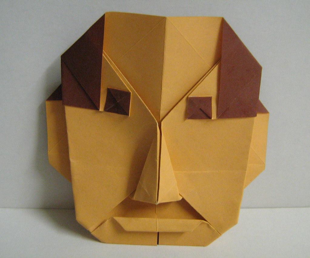 Origami Human Face