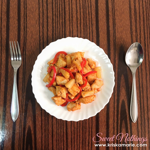 3-Ingredient Chicken and Pineapple Stir-Fry