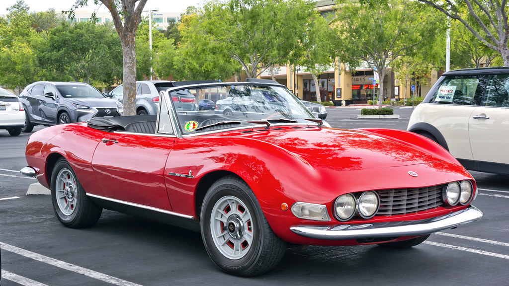 1969 Fiat Dino Spider Equipped With A Ferrari V6 Engine An Flickr
