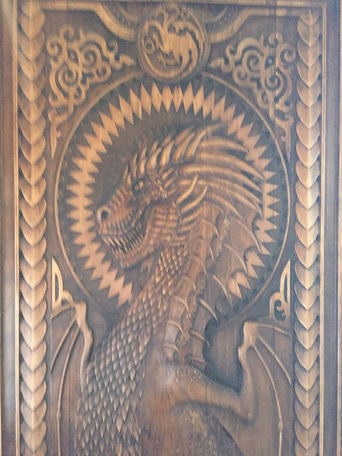 Game of Thrones door at The Cuan