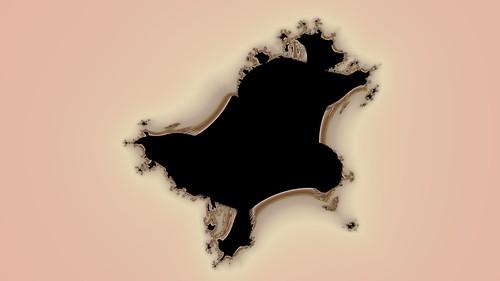 Quasi Perpendicular Mandelbrot Fractal