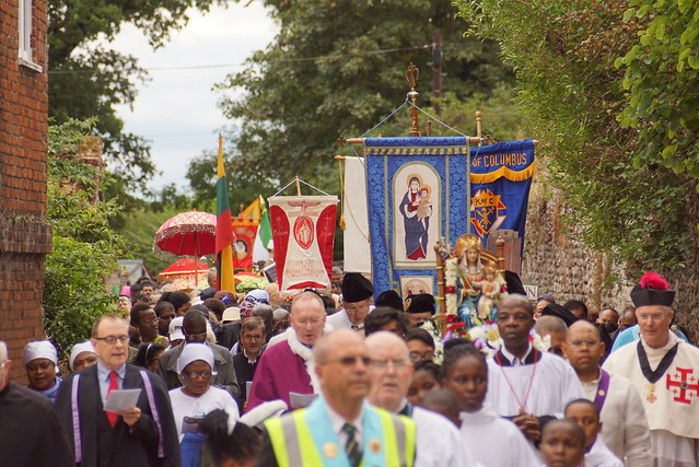 Dowry of Mary Pilgrimage - Walsingham RC Shrine, Sept16