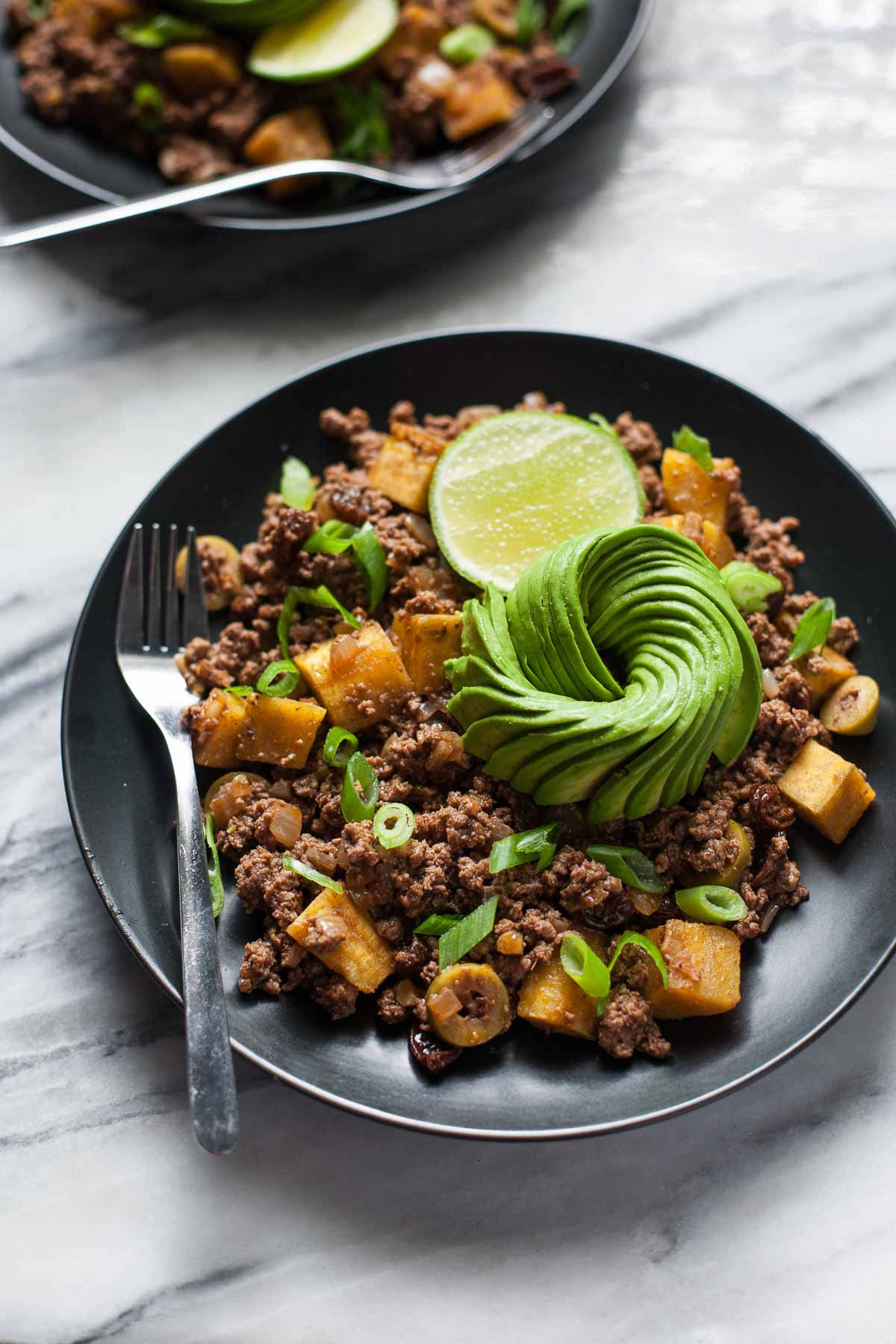 Picadillo with Plantains from Well Fed Weeknights (Paleo, Whole30)