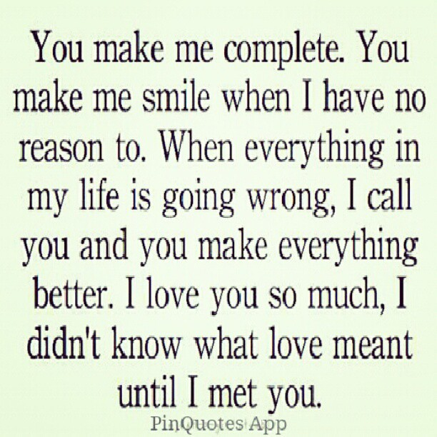 Cute Love Quotes For Him I Love You : PinQuotes #love #cute #sweet #truelove #couple #relations? Flickr
