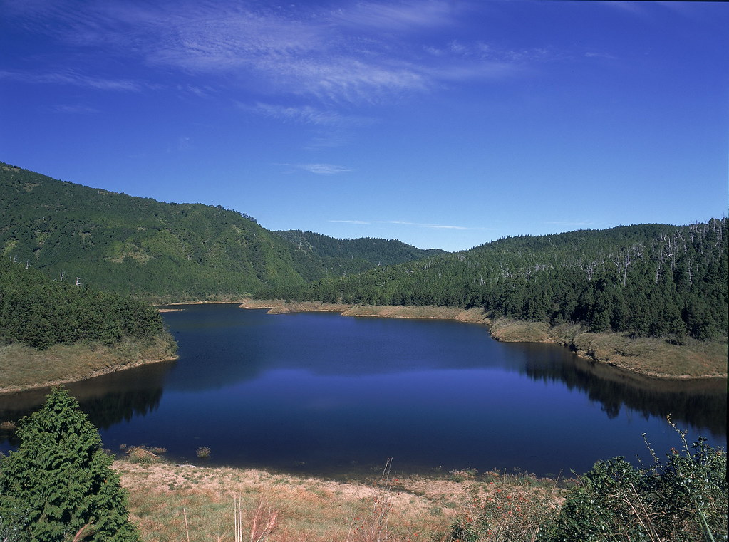 翠峰湖。圖片來源:林務局。