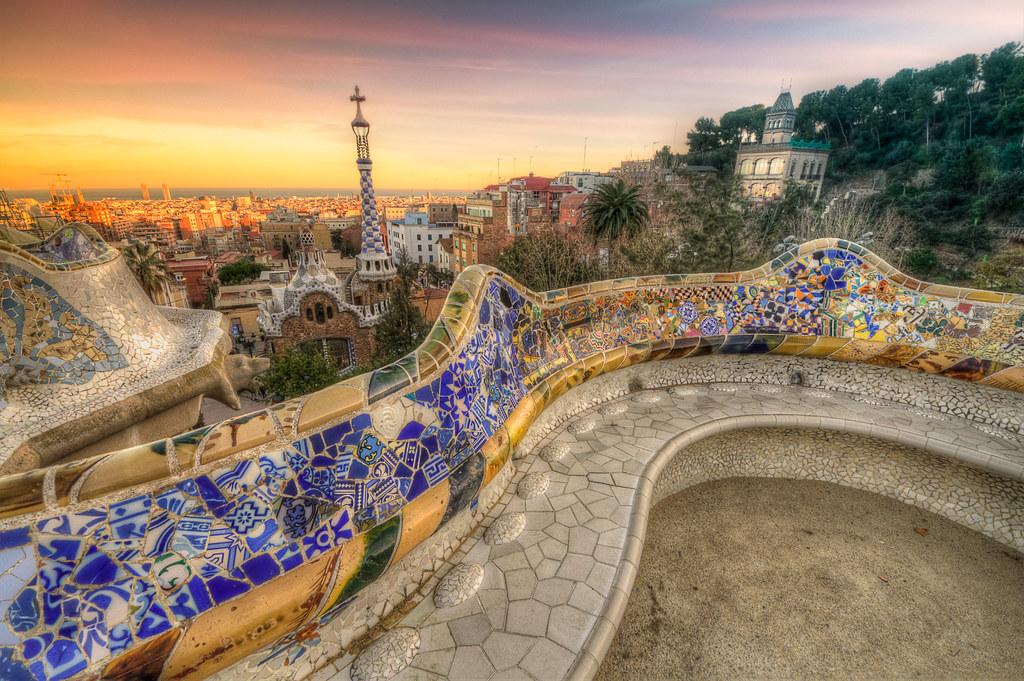 Αποτέλεσμα εικόνας για Parc Guell barcelona