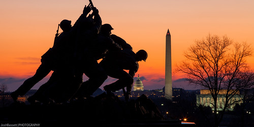 48/365 - U.S. Marine Corps War Memorial at Dawn | by JoshBassett|PHOTOGRAPHY