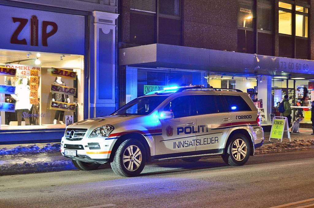 Mercedes Gl 350 Norwegian Police Department A Mercedes