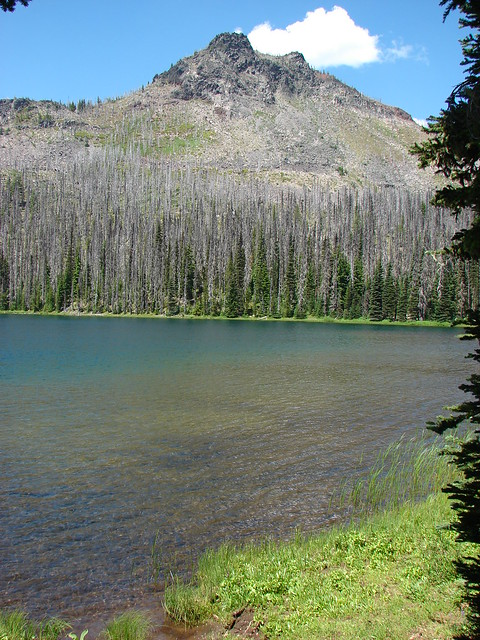 Duffy Butte from Duffy Lake
