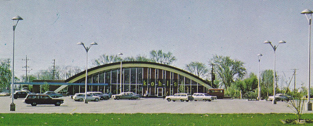 Kohl S Shopping Center Racine Wisconsin Day View Scan