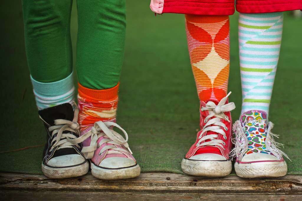 Mismatched Shoes For Kids