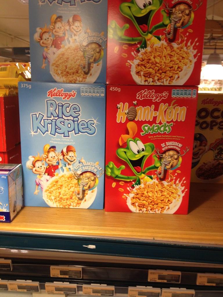 Kellogg's Rice Krispies & Smacks | The mascots look a bit ...